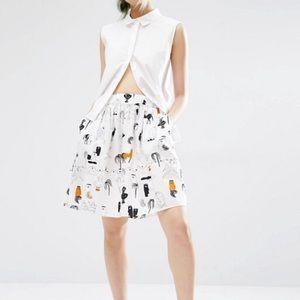 Monki summer skirt